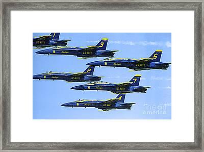 Flock Of Angels Framed Print