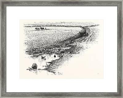 Flodden Field. The Battle Of Flodden Or Flodden Field Or Framed Print by English School