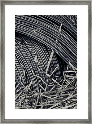 Flood Framed Print by Odd Jeppesen