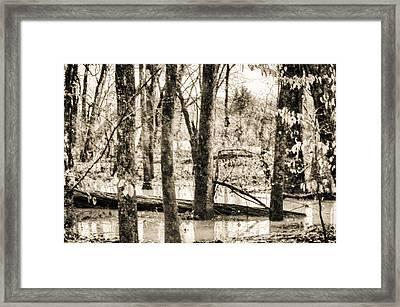 Flood Water Framed Print by J Riley Johnson