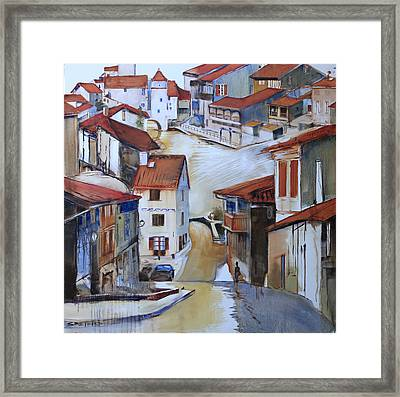 Flood Way Home Framed Print