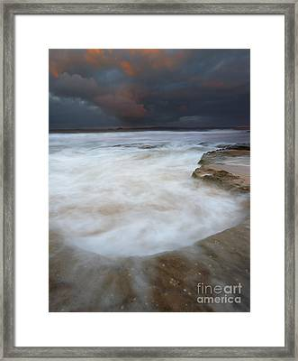 Flooded By The Tides Framed Print