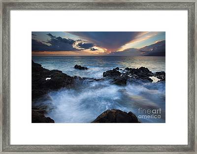 Flooded Framed Print by Mike  Dawson