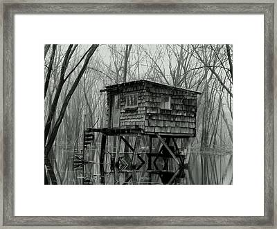 Swamp Witch Framed Print by Wild Thing
