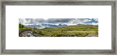Flooding Light Framed Print by Roald Nel