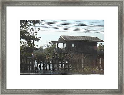 Flooding Of Stores And Shops In Bangkok Thailand - 01131 Framed Print by DC Photographer