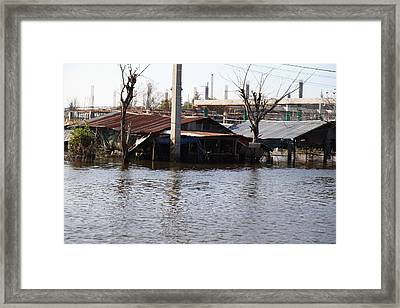 Flooding Of Stores And Shops In Bangkok Thailand - 01138 Framed Print by DC Photographer