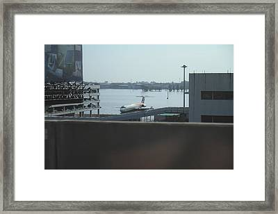 Flooding Of The Airport In Bangkok Thailand - 01134 Framed Print