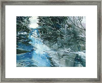 Floods 3 Framed Print by Anil Nene