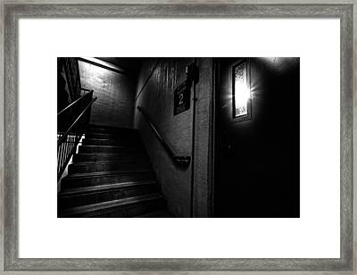 Floor Two After Dark Framed Print by Bob Orsillo
