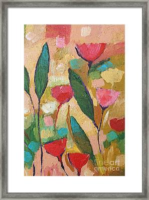 Flora Abstraction Framed Print by Lutz Baar