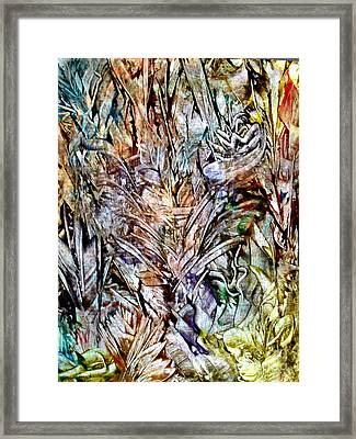 Flora Framed Print by Danya Hammoudi