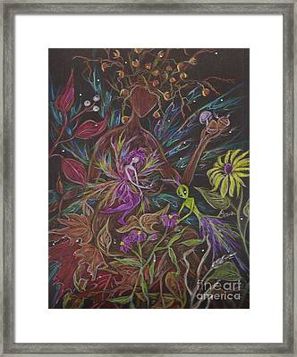 Flora Framed Print by Dawn Fairies