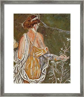 Flora - Study No. 1 Framed Print