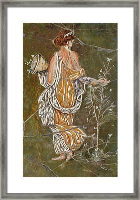 Flora - Study No. 2 Framed Print