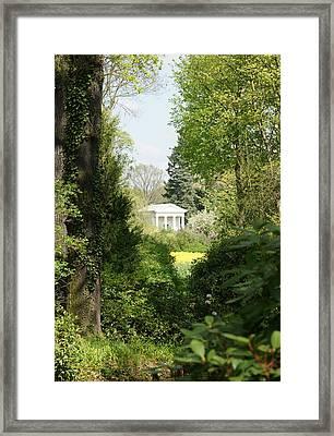 Flora Temple Framed Print by Olaf Christian