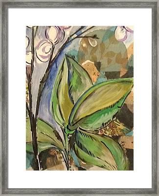Flora1 Framed Print by Karen Carnow