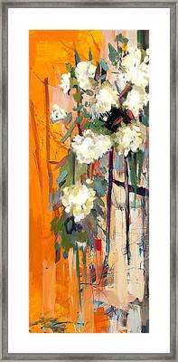 Floral 17 Framed Print by Mahnoor Shah