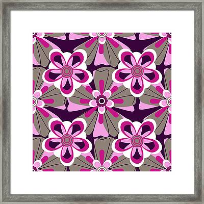Framed Print featuring the digital art Floral 2  by Lisa Noneman