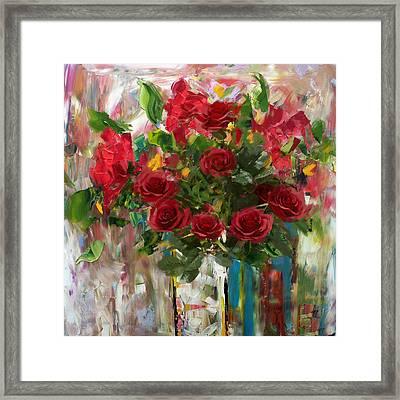 Floral 7 Framed Print
