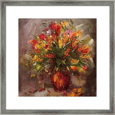 Floral 8 Framed Print