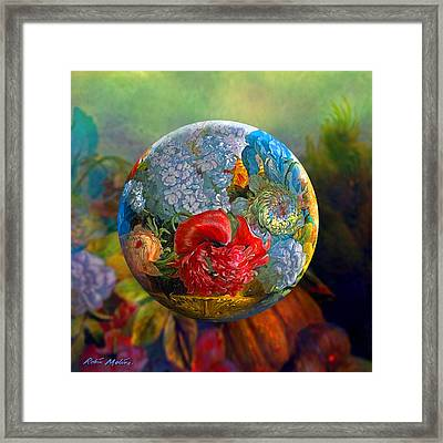 Floral Ambrosia Framed Print by Robin Moline
