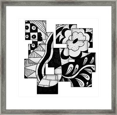 Floral And More Framed Print