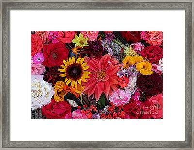 Floral Bounty 2 Framed Print by Jeanette French
