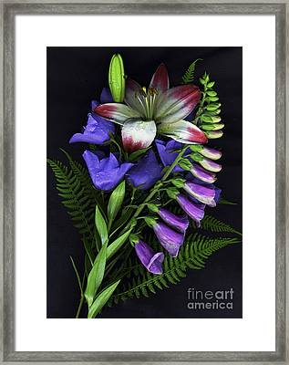 Floral Bouquet 2 Framed Print
