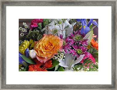 Floral Bouquet 6 Framed Print