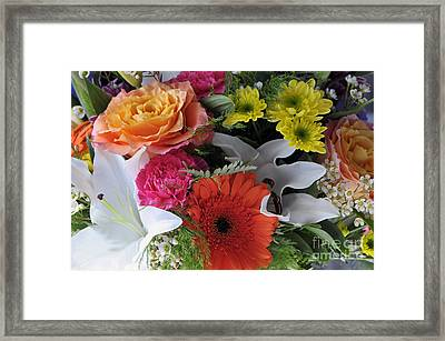 Floral Bouquet 7 Framed Print