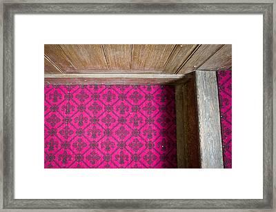 Floral Carpet Framed Print by Tom Gowanlock