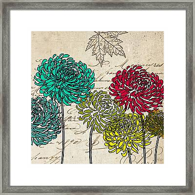 Floral Delight II Framed Print by Lourry Legarde