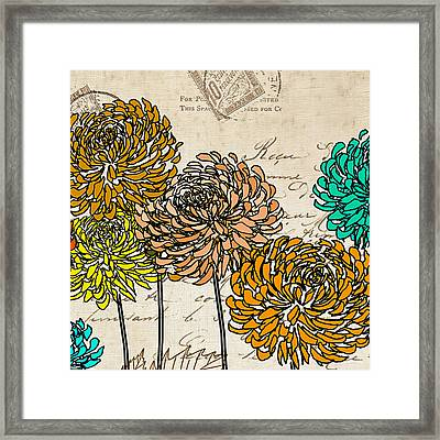 Floral Delight IIi Framed Print by Lourry Legarde