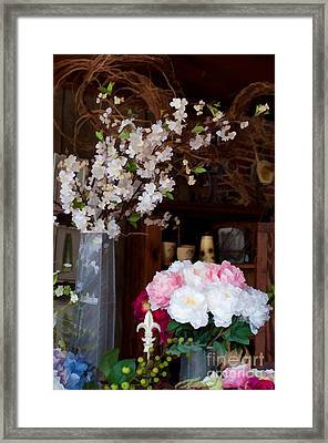 Floral Display Framed Print by Liane Wright