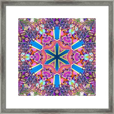 Floral Dreamscape Framed Print