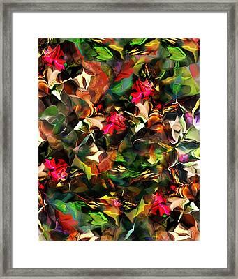 Floral Expression 121914 Framed Print by David Lane