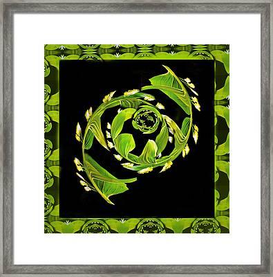 Floral Fantasia Framed Print by Jean Noren