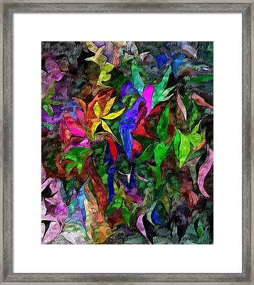 Floral Fantasy 012015 Framed Print by David Lane