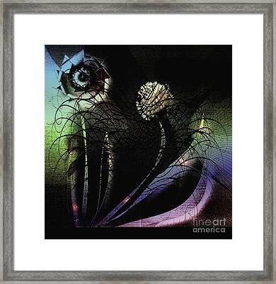 Floral Fever Framed Print by Iris Gelbart