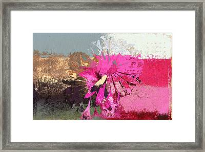 Floral Fiesta - S33ct01 Framed Print by Variance Collections