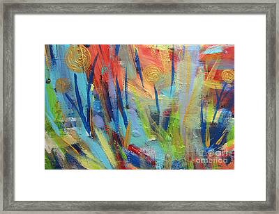 Floral Harmony Framed Print by Stacey Zimmerman