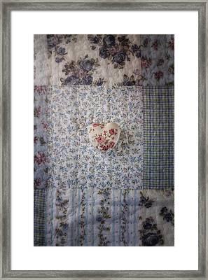 Floral Heart Framed Print