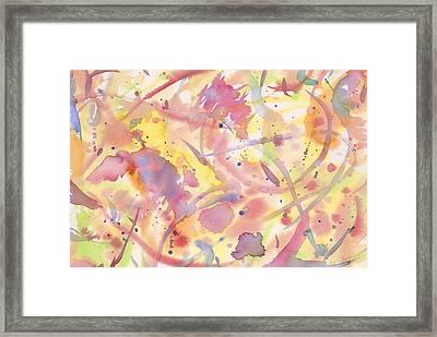 Floral Heaven Framed Print