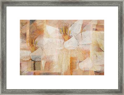 Floral Imagination Framed Print