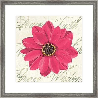 Floral Inspiration 3 Framed Print by Debbie DeWitt