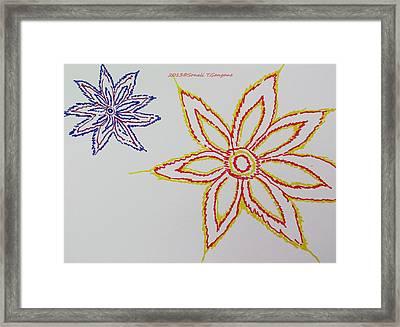 Floral Joy  Framed Print by Sonali Gangane