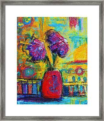 Floral No. 12 Framed Print by Patricia Awapara