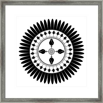 Floral Ornament Framed Print