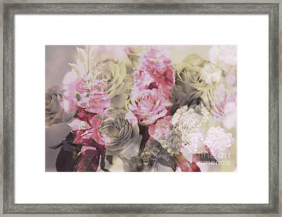 Floral Pattern Framed Print by Amanda Barcon